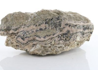 AME 506 Barite, Galena, Pyrite, Quartz, Rhodochrosite & Sphalerite
