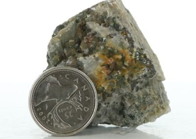 AME 641 Calcite, Chalcopyrite, Quartz Crystals