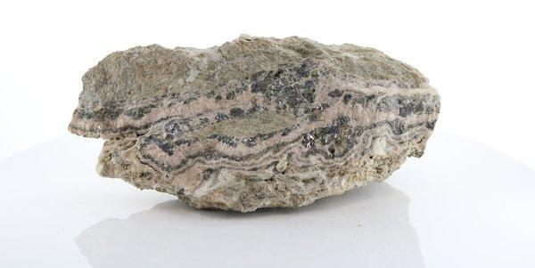 AME 506 Barite, Galena, Pyrite, Quartz, Rhodochrosite & Sphalerite Image
