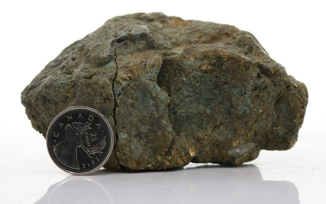 Weather Massive Chalcopyrite (D14-13)