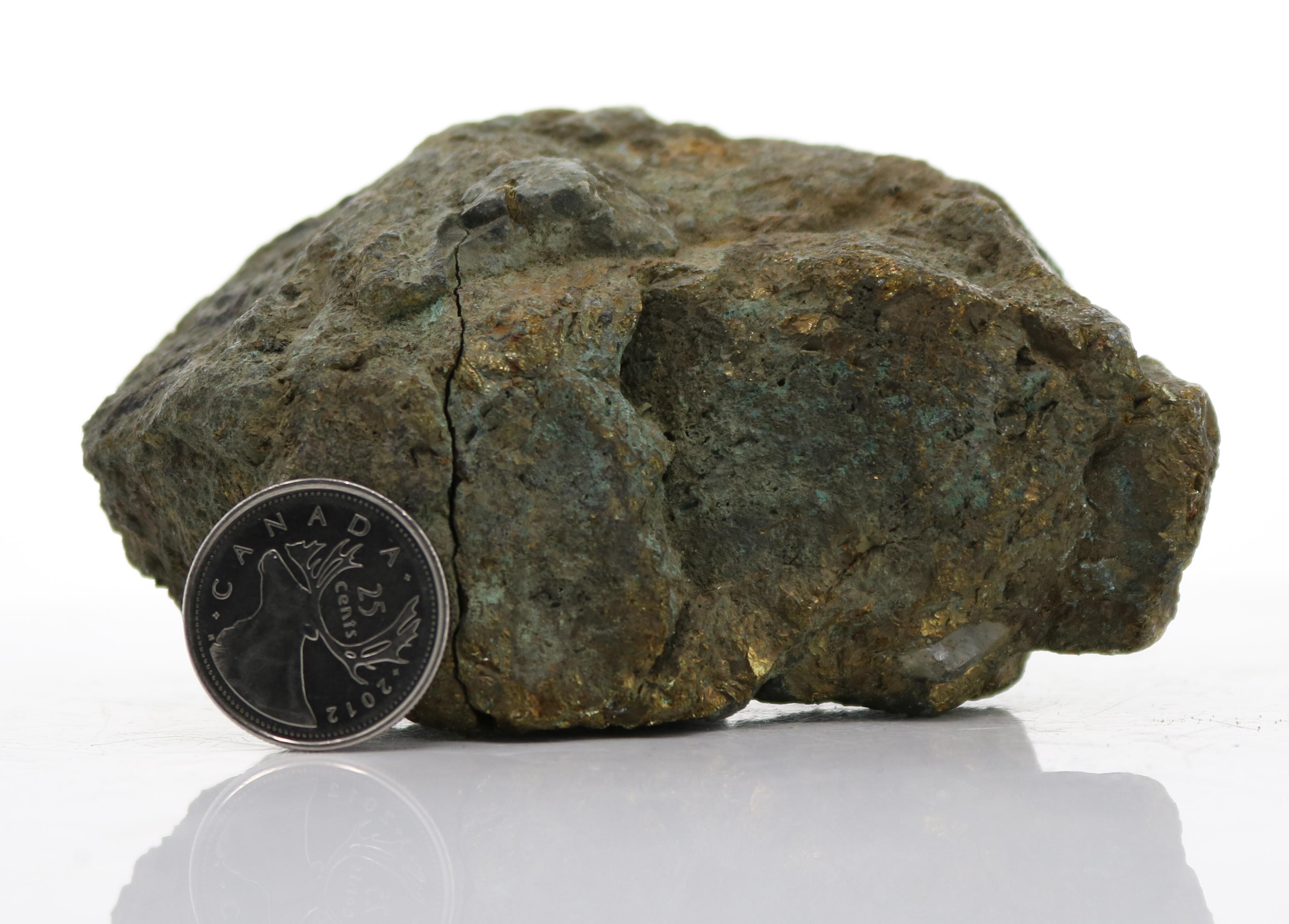 Weathered Massive Chalcopyrite (D14-13) Image