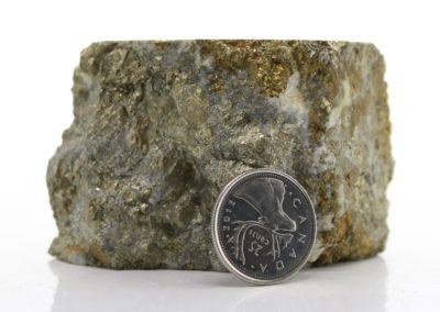 Pyrite-Chalcopyrite-Quartz Vein (D34-19)